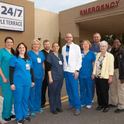 Brandon Regional Hospital's Freestanding ER 24/7 in Temple Terrace